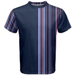 Lines Men s Cotton Tee by ValentinaDesign