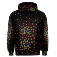Molecular Chemistry Of Mathematical Physics Small Army Circle Men s Zipper Hoodie by Mariart