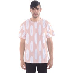 Donut Rainbows Beans White Pink Food Men s Sport Mesh Tee