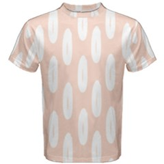 Donut Rainbows Beans White Pink Food Men s Cotton Tee by Mariart