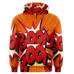 Boom Sale Orange Men s Zipper Hoodie by Mariart