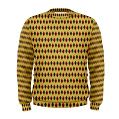 Points Cells Paint Texture Plaid Triangle Polka Men s Sweatshirt by Mariart