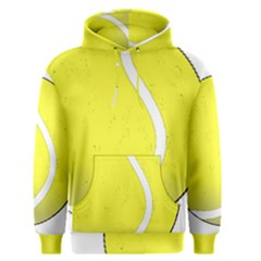 Tennis Ball Ball Sport Fitness Men s Pullover Hoodie by Nexatart