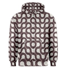 Seamless Geometric Circle Men s Zipper Hoodie by Mariart