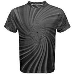 Abstract Art Color Design Lines Men s Cotton Tee by Nexatart