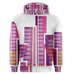 Building Men s Zipper Hoodie by Mariart