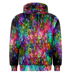 Colorful Bubble Shining Soap Rainbow Men s Pullover Hoodie by Mariart