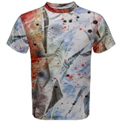 Abstract Design Men s Cotton Tee by ValentinaDesign
