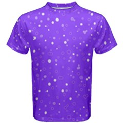 Dots Pattern Men s Cotton Tee by ValentinaDesign