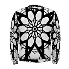 Pattern Abstract Fractal Men s Sweatshirt by Nexatart