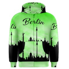 Berlin Men s Zipper Hoodie by Valentinaart