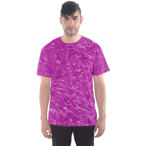 Thick Wet Paint C Men s Sports Mesh Tee by MoreColorsinLife