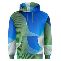 Light Means Net Pink Rainbow Waves Wave Chevron Green Blue Men s Pullover Hoodie by Mariart
