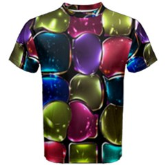 Stained Glass Men s Cotton Tee by BangZart