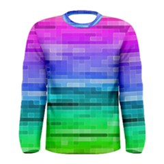 Pretty Color Men s Long Sleeve Tee by BangZart