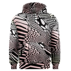 Abstract Fauna Pattern When Zebra And Giraffe Melt Together Men s Pullover Hoodie by BangZart