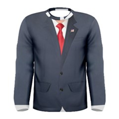 Donald Trump Suit Faux Men s Long Sleeve Tee by daydreamer