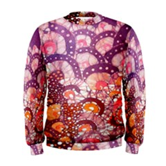 Colorful Art Traditional Batik Pattern Men s Sweatshirt by BangZart