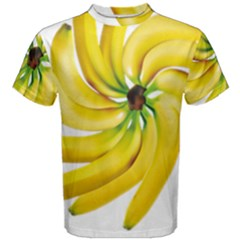 Bananas Decoration Men s Cotton Tee by BangZart
