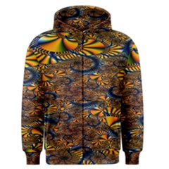 Pattern Bright Men s Zipper Hoodie by BangZart