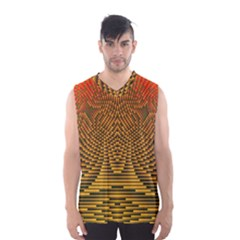 Fractal Pattern Men s Basketball Tank Top