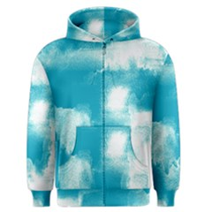Ombre Men s Zipper Hoodie by ValentinaDesign