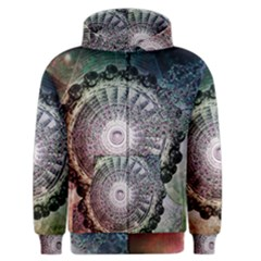 Circle Figures Background  Men s Zipper Hoodie by amphoto