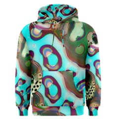 Multiscale Turing Pattern Recursive Coupled Stone Rainbow Men s Pullover Hoodie by Mariart