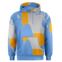 Map Transform World Men s Pullover Hoodie by Mariart