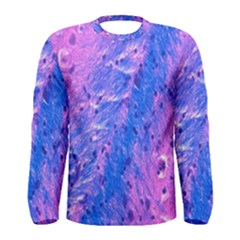 The Luxol Fast Blue Myelin Stain Men s Long Sleeve Tee by Mariart