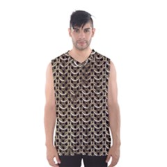 Sparkling Metal Chains 01a Men s Basketball Tank Top