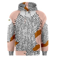 Animals Bird Owl Pink Polka Dots Men s Pullover Hoodie by Mariart