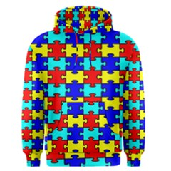 Game Puzzle Men s Pullover Hoodie by Mariart