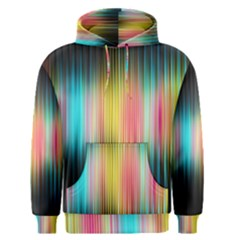 Sound Colors Rainbow Line Vertical Space Men s Pullover Hoodie by Mariart