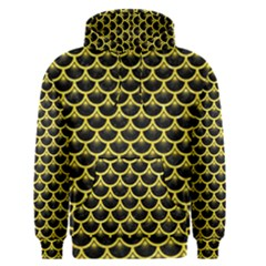 Scales3 Black Marble & Gold Glitter Men s Pullover Hoodie by trendistuff