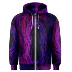 Black Hole Rainbow Blue Purple Men s Zipper Hoodie by Mariart