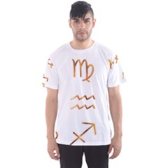 Signs Of The Zodiac Zodiac Aries Men s Sports Mesh Tee