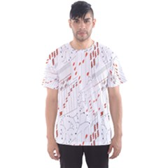 Musical Scales Note Men s Sports Mesh Tee