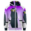 Halloween Owl Bird Animals Night Men s Zipper Hoodie View1
