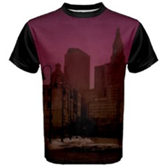 City View Men s Cotton Tee by lawsonphotography