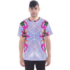 Seamless Tileable Pattern Design Men s Sports Mesh Tee
