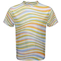 Art Abstract Colorful Colors Men s Cotton Tee by Celenk