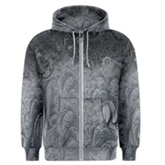 Abstract Art Decoration Design Men s Zipper Hoodie by Celenk