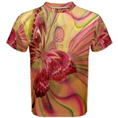 Arrangement Butterfly Aesthetics Men s Cotton Tee