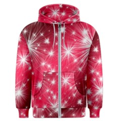 Christmas Star Advent Background Men s Zipper Hoodie