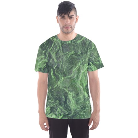 Geological Surface Background Men s Sports Mesh Tee by Celenk