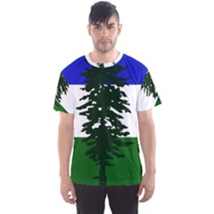 Flag Of Cascadia Men s Sports Mesh Tee by abbeyz71