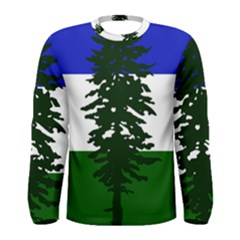 Flag Of Cascadia Men s Long Sleeve Tee by abbeyz71