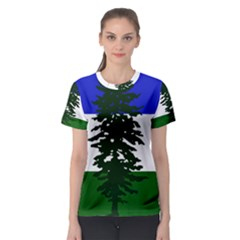 Flag 0f Cascadia Women s Sport Mesh Tee by abbeyz71