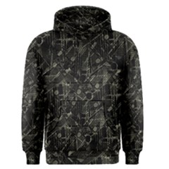 Abstract Collage Patchwork Pattern Men s Pullover Hoodie by dflcprints